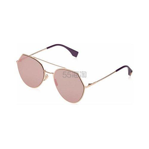 降价!Fendi 芬迪 粉色太阳镜 .99(约640元) - 海淘优惠海淘折扣|55海淘网