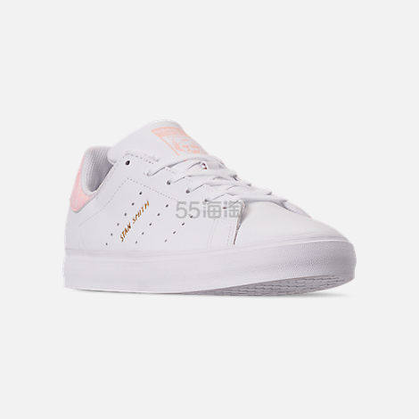 【限时高返15%】adidas Originals 三叶草 Stan Smith Vulc 大童款板鞋