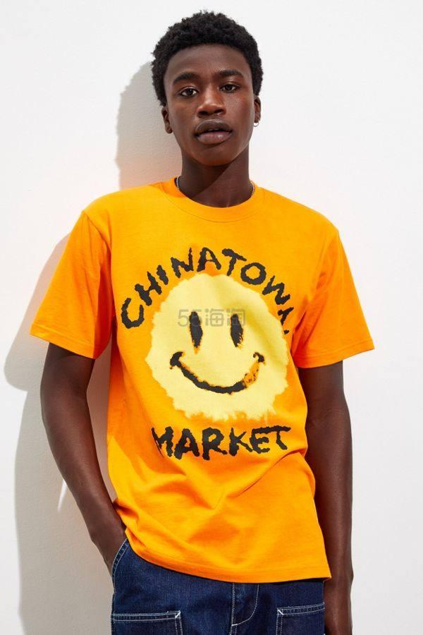 Chinatown Market X Smiley 联名T恤 (约285元) - 海淘优惠海淘折扣 55海淘网