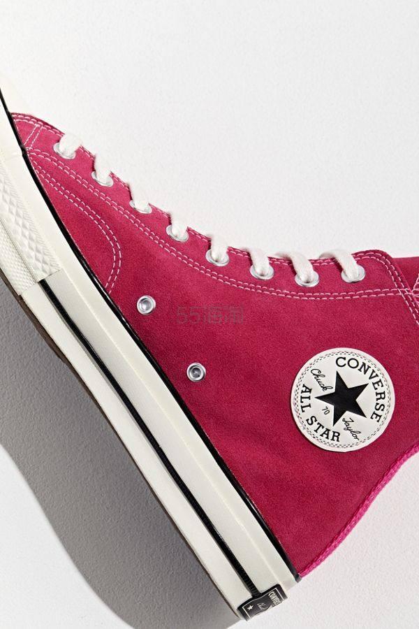 Converse Chuck 70 绒面高帮鞋