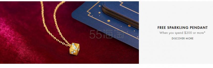 Swarovski US:精选 精美新系列首饰上新 满0享个性项链好礼 - 海淘优惠海淘折扣|55海淘网