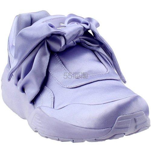 Puma 彪马 Fenty 紫色缎面蝴蝶结运动鞋 .95(约424元) - 海淘优惠海淘折扣|55海淘网