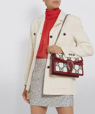 【澳门汇率优势】Gucci Tweed Dionysus 新款 Logo 拼色单肩包 港币14,135.8(约12,790元) - 海淘优惠海淘折扣|55海淘网