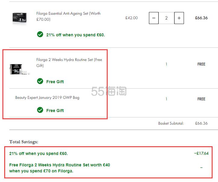 满£60享7.9折+送双重赠礼!Filorga 菲洛嘉 360度雕塑眼部护理套装 £33.18(约293元) - 海淘优惠海淘折扣|55海淘网