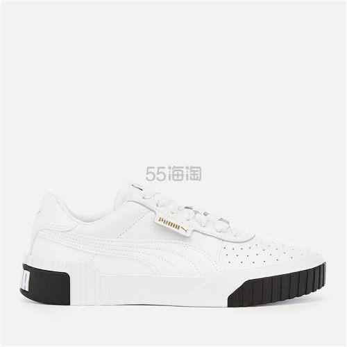 【码全 一双免邮】Puma 彪马 Cali 黑白拼色女款休闲运动鞋