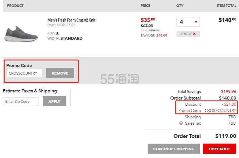 Joes New Balance Outlet:精选 新百伦 男女运动鞋 满0额外8.5折,满0额外8折 - 海淘优惠海淘折扣|55海淘网