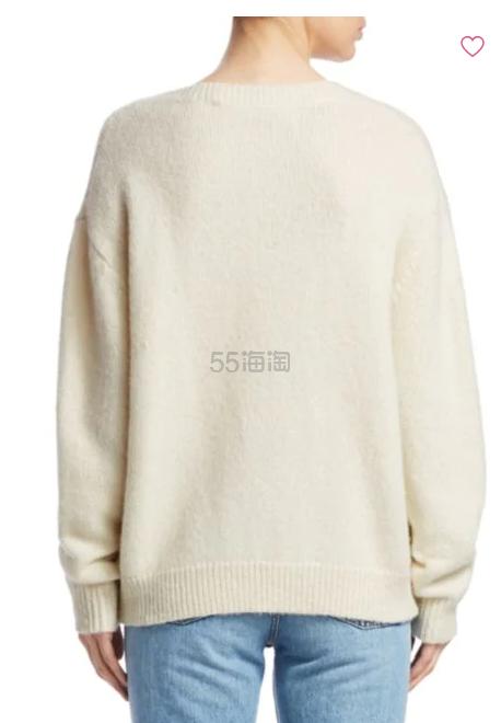IRO 羊毛 V 领绑带毛衣
