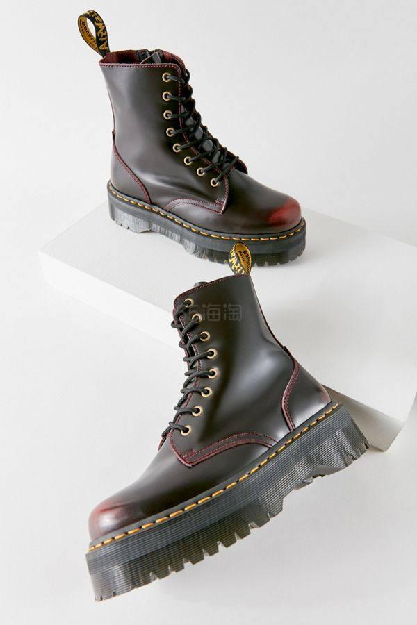 Dr. Martens Jadon 系列 厚底8孔马丁靴 0(约1,276元) - 海淘优惠海淘折扣|55海淘网