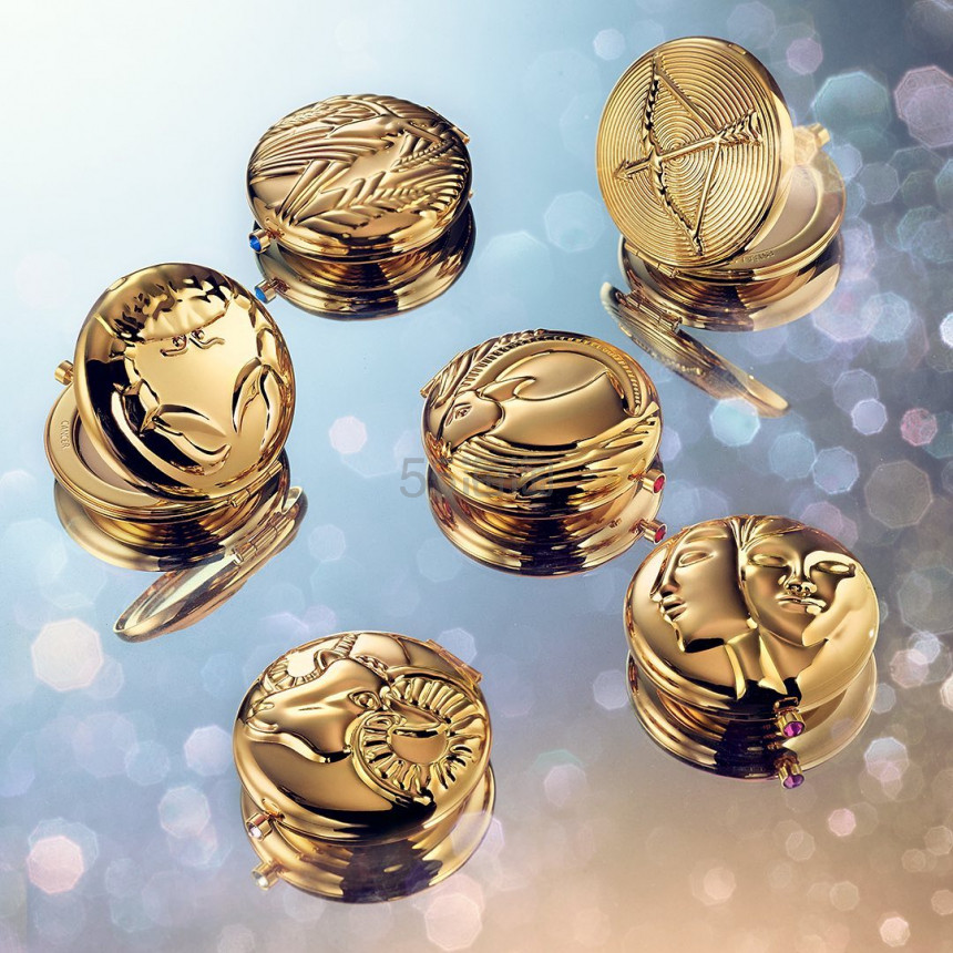 【5姐资讯】Estee Lauder 雅诗兰黛推限量复刻版12星座粉饼 金色怀表设计美哭了 - 海淘优惠海淘折扣|55海淘网