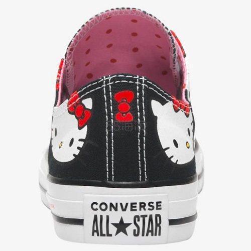 Converse 匡威 All Star Ox X Hello Kitty 男子帆布鞋 .99(约285元) - 海淘优惠海淘折扣|55海淘网