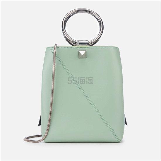 SALAR Lola Multi 薄荷绿圆环手提单肩包 ¥1,286.56 - 海淘优惠海淘折扣|55海淘网