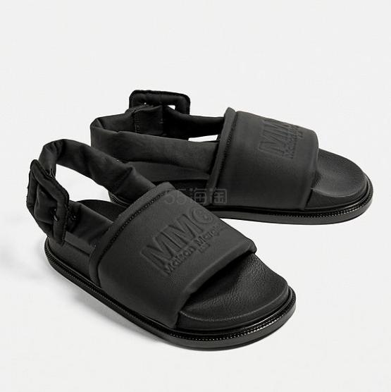 MM6 Puff Sandals 凉鞋 £380(约3,315元) - 海淘优惠海淘折扣|55海淘网