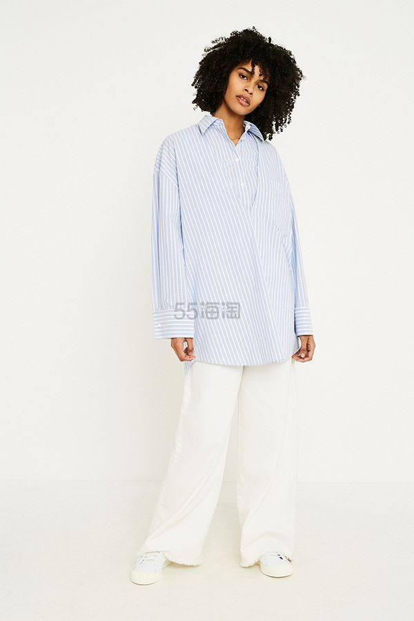 仅剩L码!MM6 Double Layer Poplin Tunic Shirt 分解衬衫 £100(约872元) - 海淘优惠海淘折扣|55海淘网