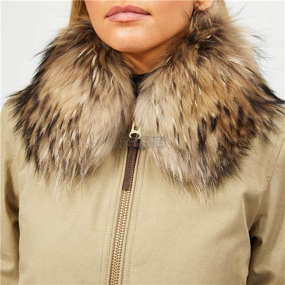 Woolrich 女士短款毛领鸭绒服棉衣 ¥1,520.48 - 海淘优惠海淘折扣|55海淘网