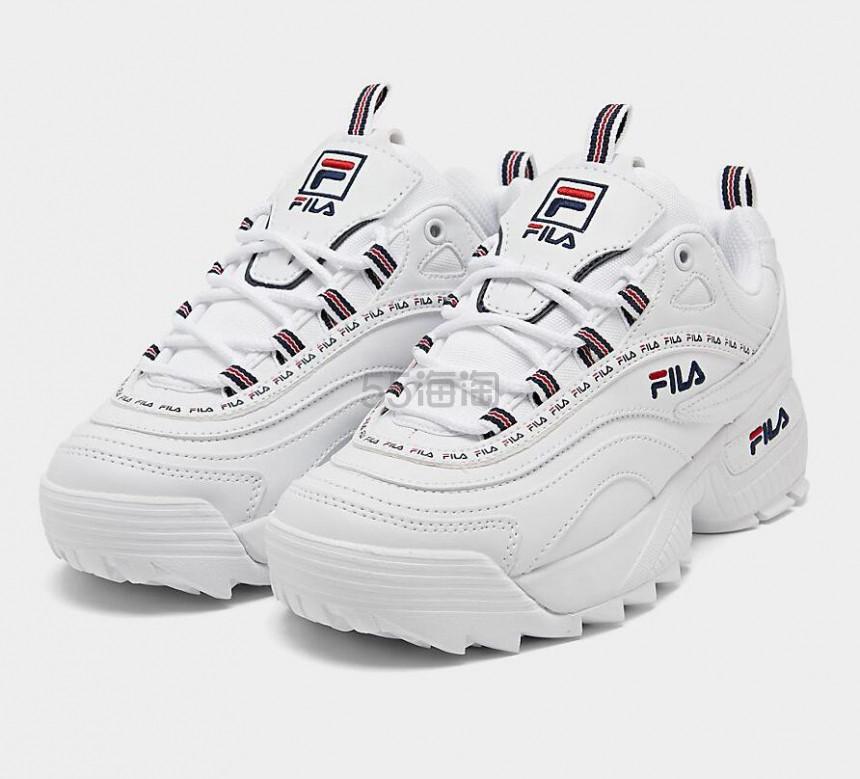 【限时超高返】码数齐全 Fila 斐乐 Ray Repeat 大童款运动鞋 (约250元) - 海淘优惠海淘折扣|55海淘网