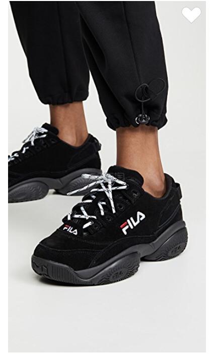 常见码有货~Fila Concours 女款低帮运动鞋 (约390元) - 海淘优惠海淘折扣|55海淘网