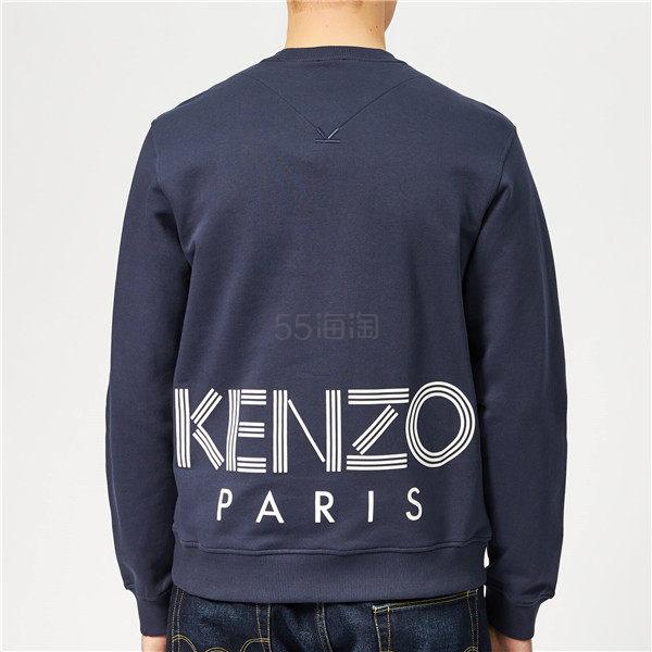 【一件免邮中国】Kenzo 男士背后 Logo 卫衣 ¥811.85 - 海淘优惠海淘折扣|55海淘网