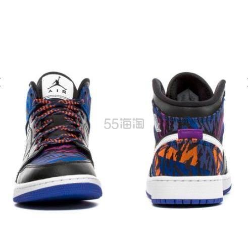 Air Jordan 乔丹 Mid SE 大童款篮球鞋 炫彩虎纹 .99(约698元) - 海淘优惠海淘折扣|55海淘网