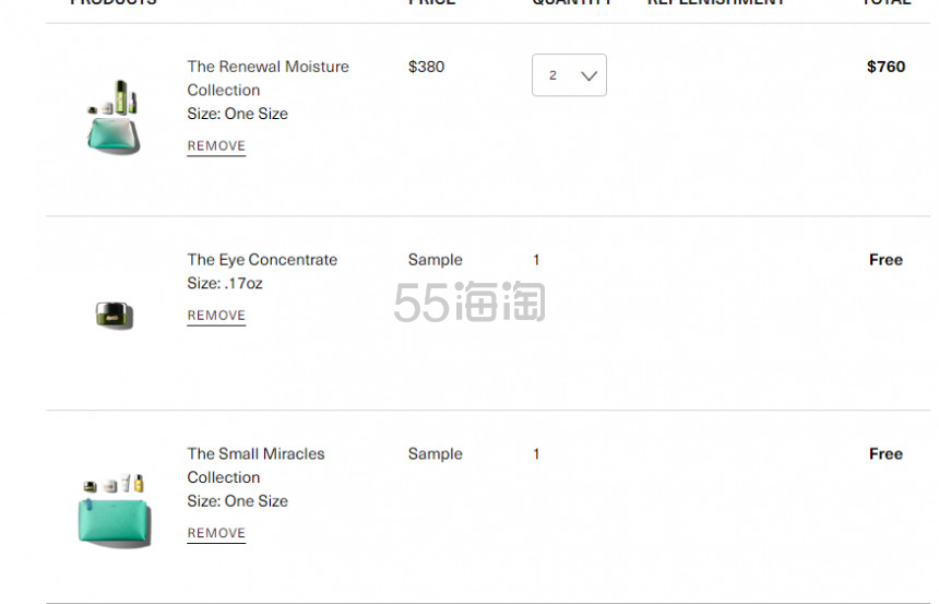 【55周年庆】最高享7件好礼!La Mer 海蓝之谜 The Soothing Moisture Collection 超值明星套装 0(约2,728元) - 海淘优惠海淘折扣|55海淘网