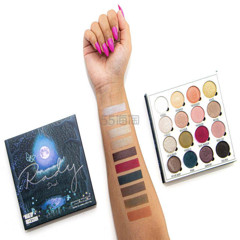 新品!Makeup Revolution X Rady Dusk  眼影盘 £10(约89元) - 海淘优惠海淘折扣|55海淘网