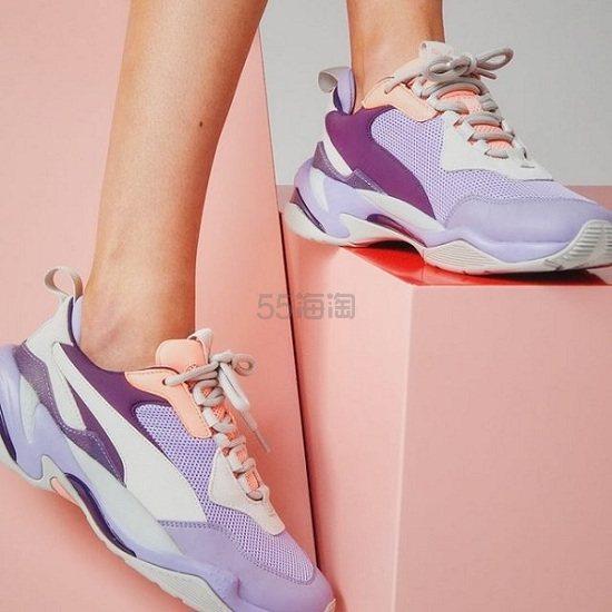 Puma 彪马 Thunder 紫色拼老爹鞋