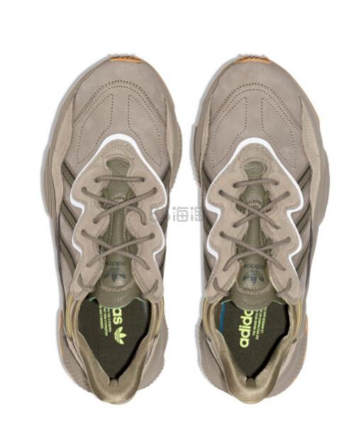 ADIDAS green Ozweego 男款运动鞋 港币717.3(约649元) - 海淘优惠海淘折扣|55海淘网
