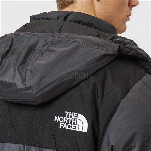 The North Face 男士 Logo 防水派克棉衣