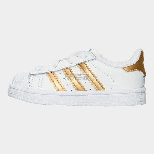 【额外7.5折】adidas Originals 三叶草 Superstar 小童款板鞋 (约141元) - 海淘优惠海淘折扣|55海淘网