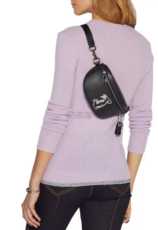 Coach 蔻驰 Selena Bunny 兔子皮革腰包 6.5(约959元) - 海淘优惠海淘折扣 55海淘网