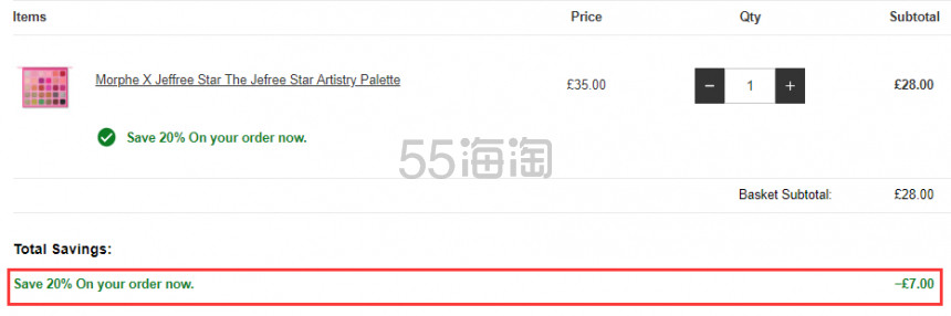 【可直邮】Lookfantastic:Morphe X Jeffree Star J姐合作彩妆产品