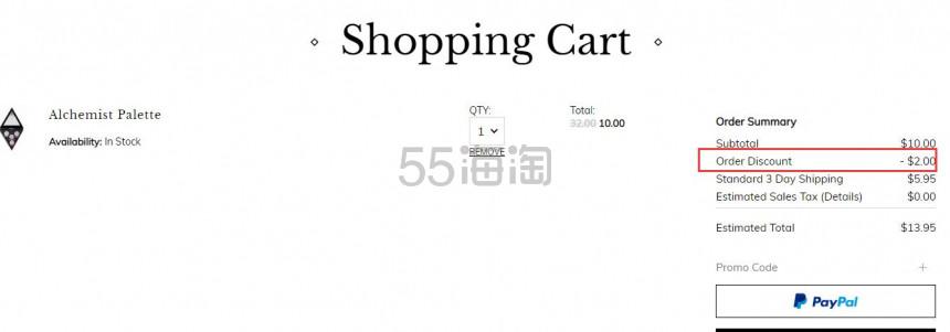 又降价了!Kat Von D 炼金术士三色高光盘 (约56元) - 海淘优惠海淘折扣 55海淘网