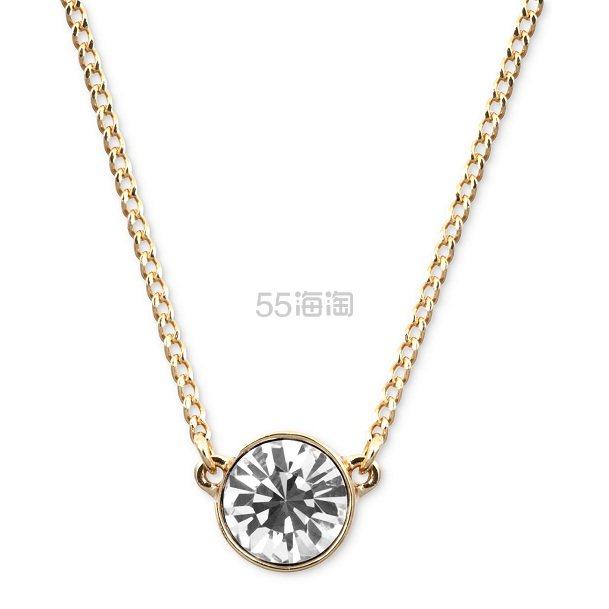 【三色】Givenchy 纪梵希闪亮单钻水晶项链 (约147元) - 海淘优惠海淘折扣|55海淘网