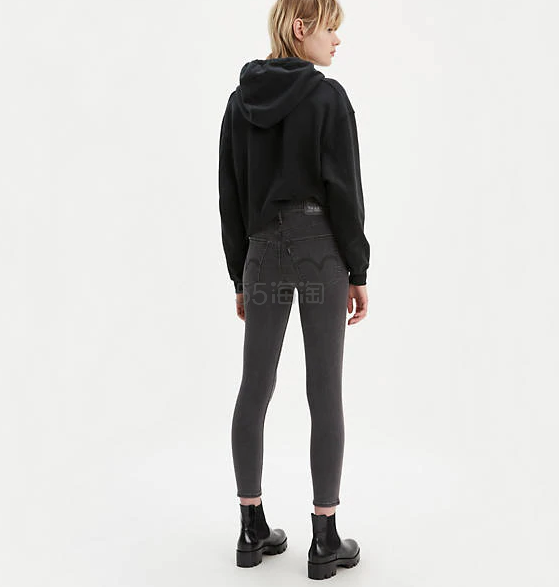 Levis Mile High Super Skinny 铆钉修饰修身牛仔裤 .97(约140元) - 海淘优惠海淘折扣 55海淘网