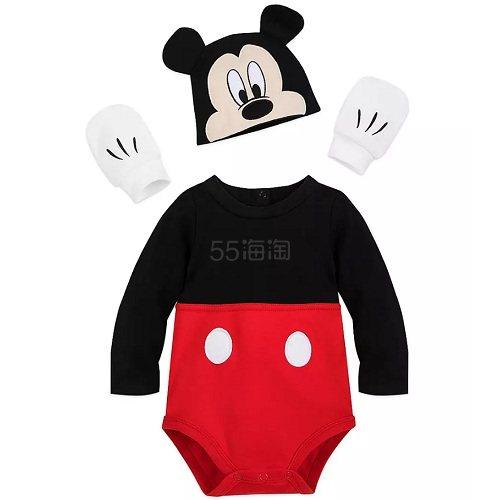 降价!Disney 迪士尼 米奇宝宝服装套装