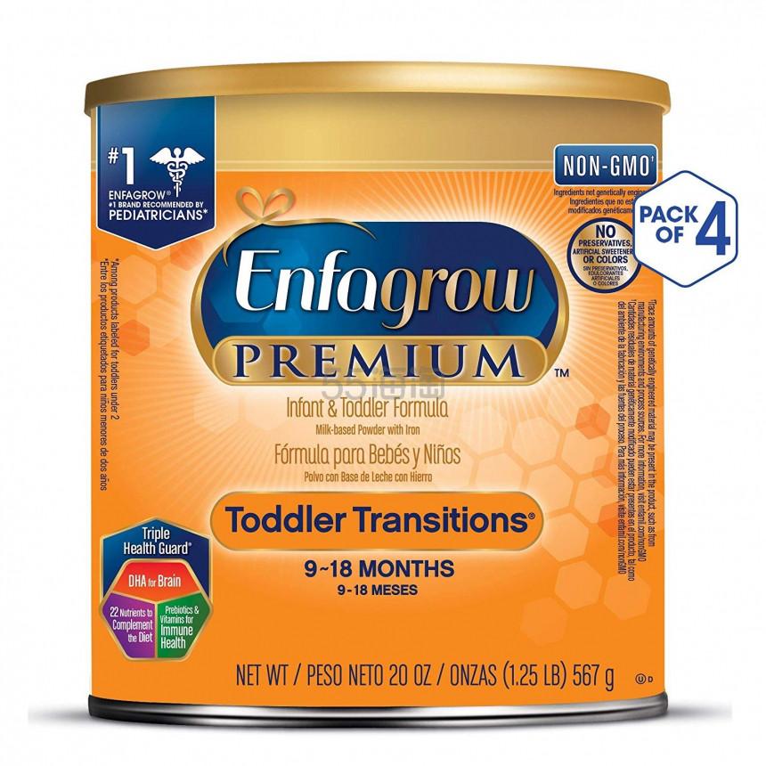 2件9.5折!【中亚Prime会员】Enfagrow 美赞臣 2段婴幼儿配方奶粉 567g*4罐 到手价617元 - 海淘优惠海淘折扣|55海淘网