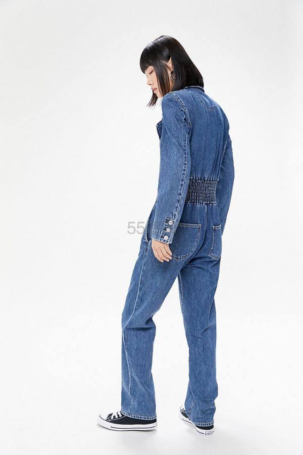 AGOLDE Lucca Denim 牛仔连体裤 9.99(约981元) - 海淘优惠海淘折扣 55海淘网