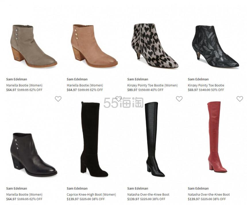 Nordstrom Rack:精选 Sam Edelman 时尚美鞋