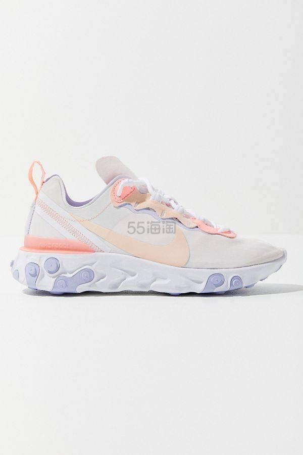 仅剩7码!Nike 耐克 React Element 55 运动鞋 .99(约490元) - 海淘优惠海淘折扣|55海淘网