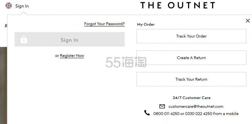 颇特女士旗下网站 THE OUTNET UK 购买攻略 - 海淘优惠海淘折扣|55海淘网