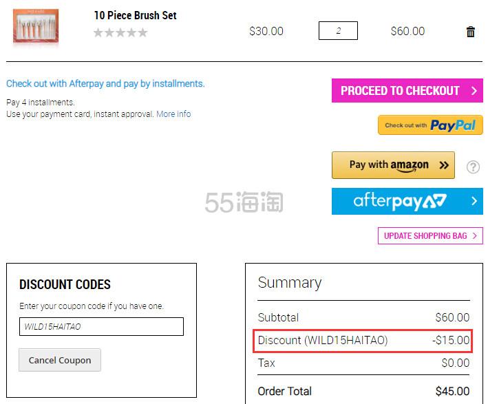 【55专享】Wet n Wild 湿又野官网:热卖彩妆 正价商品 满立减 - 海淘优惠海淘折扣|55海淘网