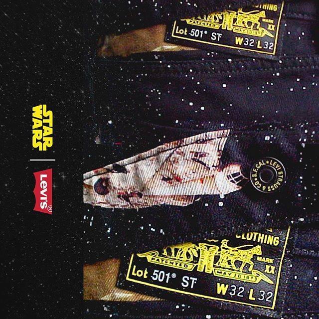 Levis × STAR WARS 星球大战秋冬合作系列 限量上新 - 海淘优惠海淘折扣|55海淘网