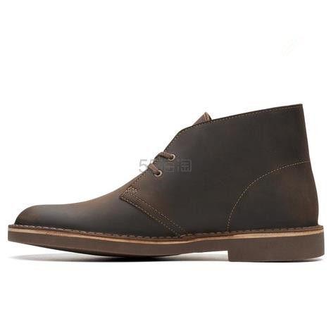 【额外7.5折】Clarks 其乐 Bushacre 2 沙漠真皮男靴 .96(约374元) - 海淘优惠海淘折扣|55海淘网