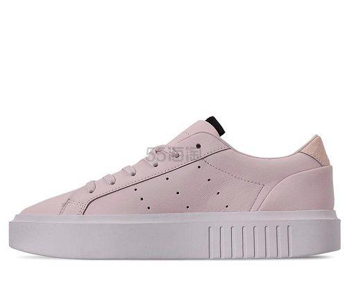 adidas Originals 三葉草 Sleek 女子板鞋 (約382元) - 海淘優惠海淘折扣 55海淘網