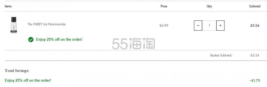 Beauty Expert:The Inkey List 平价成分系护肤品牌 7.5折! - 海淘优惠海淘折扣|55海淘网