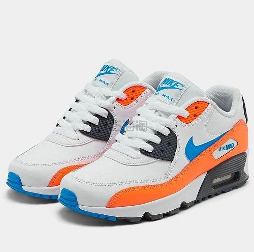 Nike 耐克 Air Max 90 大童款气垫运动鞋 (约382元) - 海淘优惠海淘折扣 55海淘网