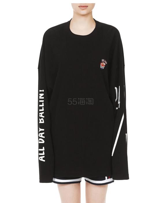 ROMANTIC CROWN Oversized 宽松T恤 ¥431 - 海淘优惠海淘折扣|55海淘网