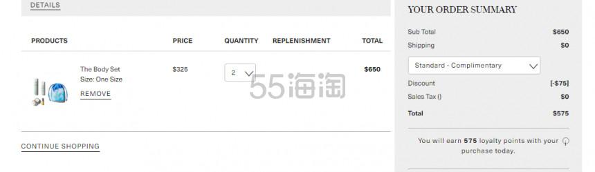 新人满减还在!La Mer 海蓝之谜 限定 The Relaxing Renewal 礼包 5(约1,008元) - 海淘优惠海淘折扣|55海淘网