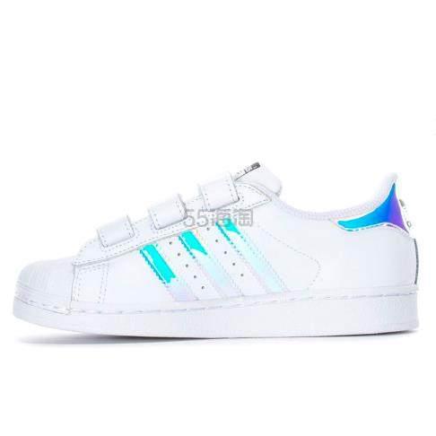 【小脚福利】adidas Originals 三叶草 Superstar 中童款板鞋 .98(约278元) - 海淘优惠海淘折扣|55海淘网