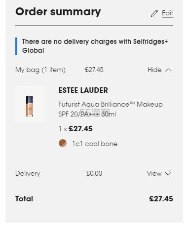 【色号基本补全】Estee Lauder 雅诗兰黛 沁水粉底液 亚洲版 £27.45(约248元) - 海淘优惠海淘折扣|55海淘网