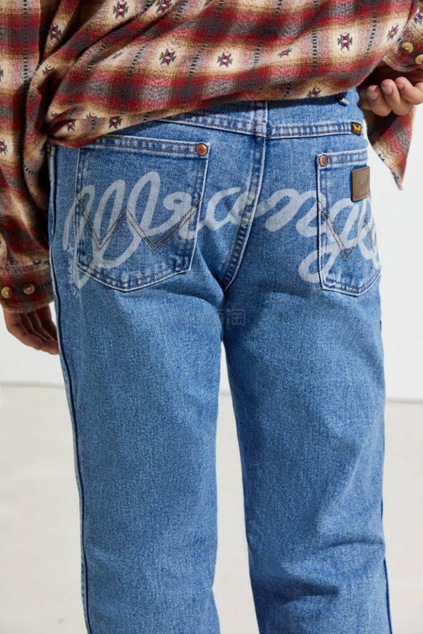Wrangler X Lil Nas X 联名UO限定 Wrangler On My Booty 直筒牛仔裤 .99(约139元) - 海淘优惠海淘折扣|55海淘网